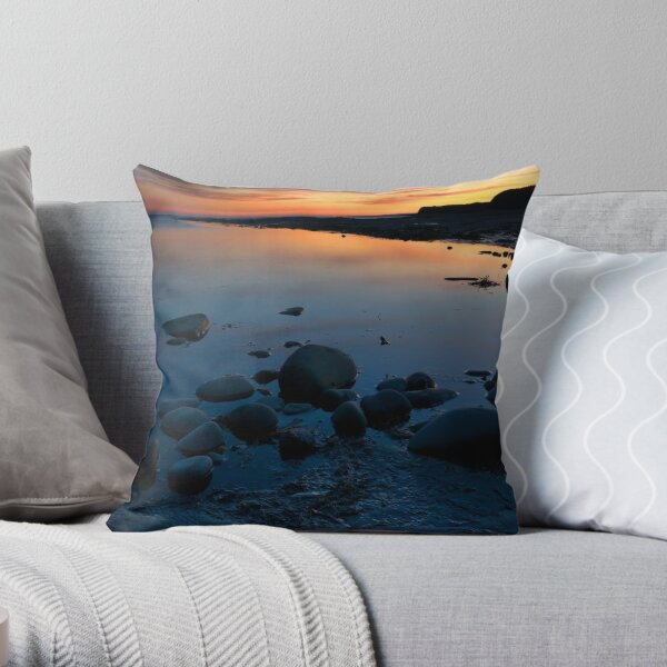 Kimmeridge Bay 7 Throw Pillow