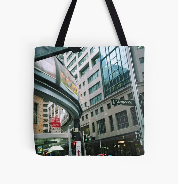 Sydney monorail  All Over Print Tote Bag