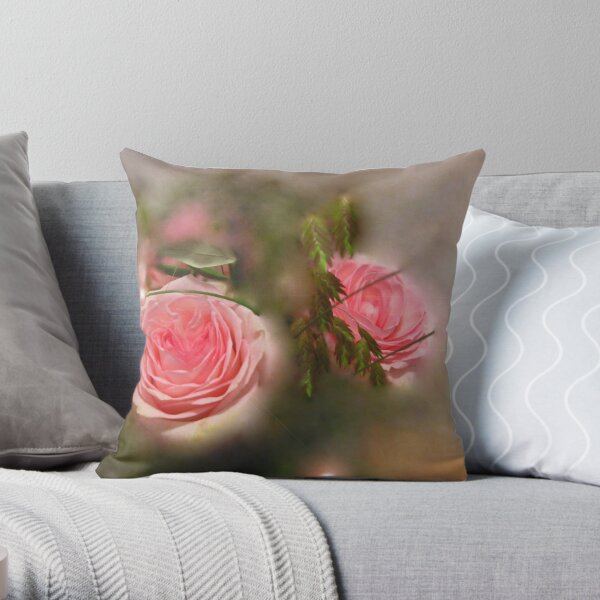 Hidden Beauties Throw Pillow