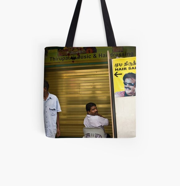 Fancy a haircut? All Over Print Tote Bag