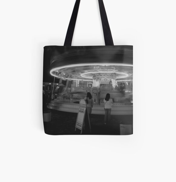 Round a bout All Over Print Tote Bag