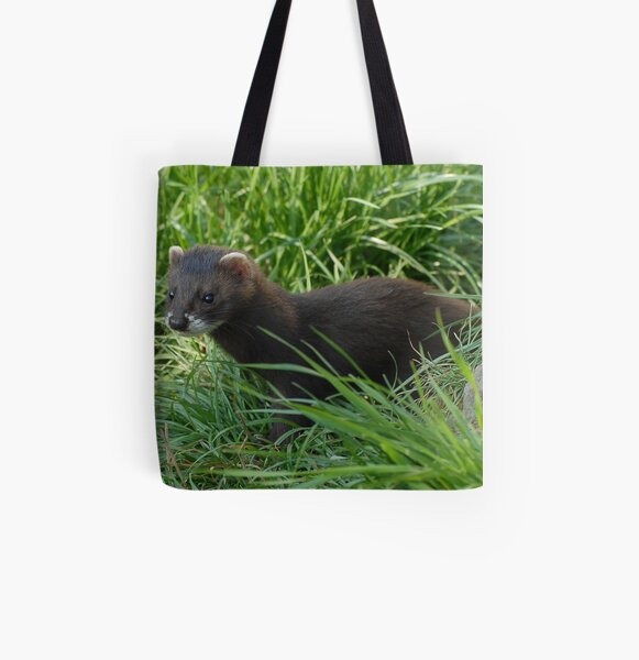 Young Polecat All Over Print Tote Bag