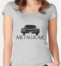 The Metallicar Women's Fitted Scoop T-Shirt
