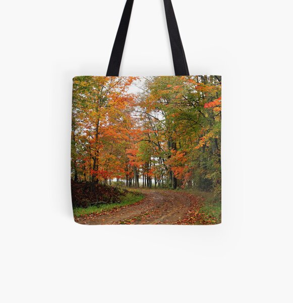 Around The Curve All Over Print Tote Bag
