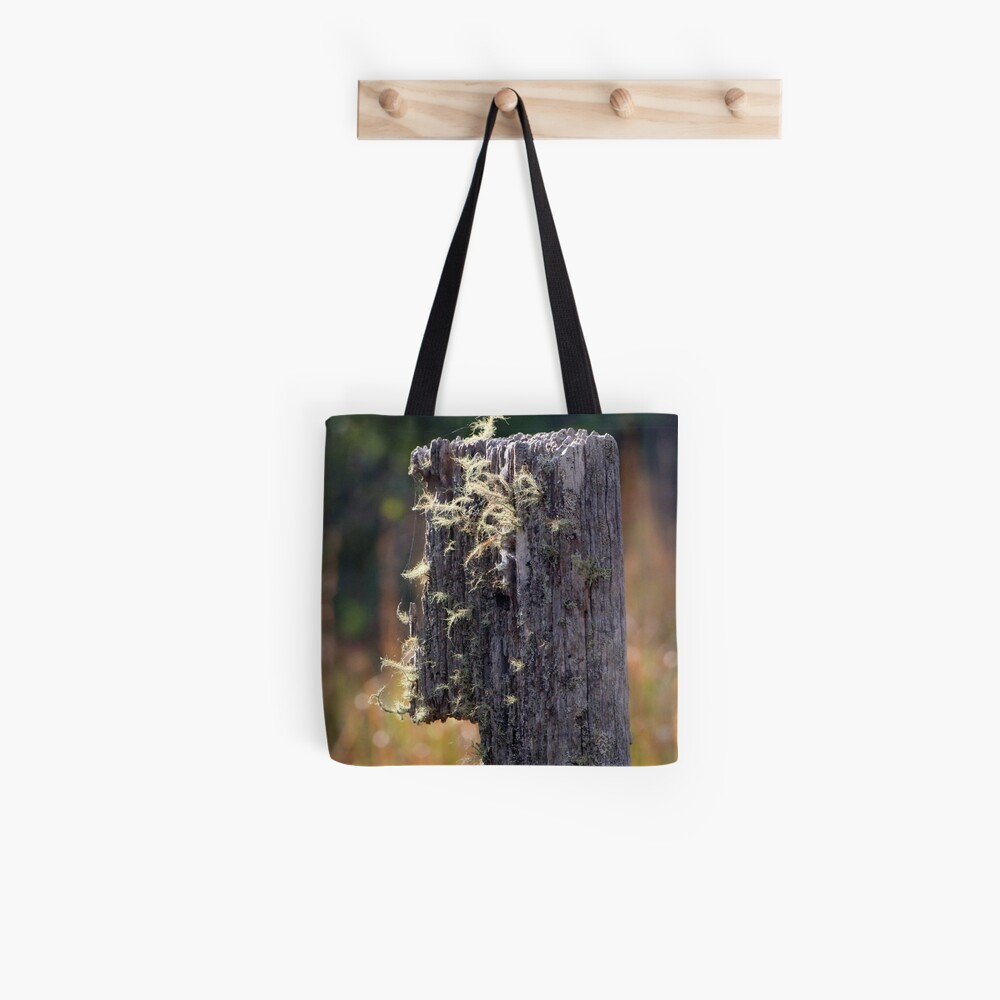 Abandoned Fencepost Tote Bag