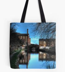 Canal at Dusk Tote Bag