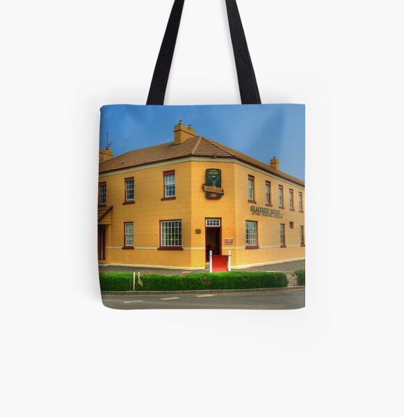 Stag Restaurant, Port Fairy, Victoria All Over Print Tote Bag