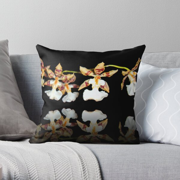 Oncidium Throw Pillow