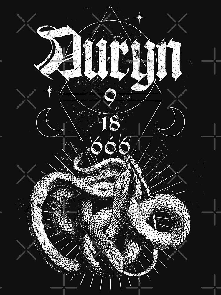 Auryn - Do what thou wilt - Eldritch Dreamer - Lovecraftian Cthulhu mythos wear by eldritchdreamer