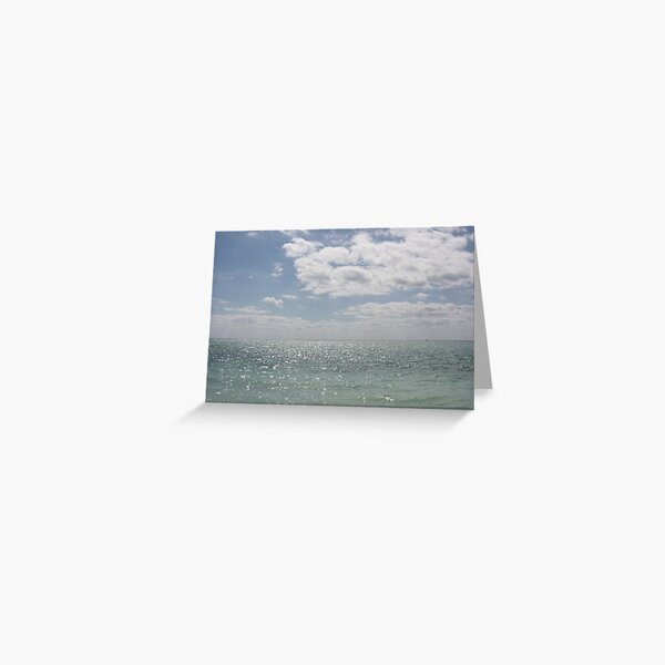 Open your Eyes to the Vast Blue Skies Greeting Card