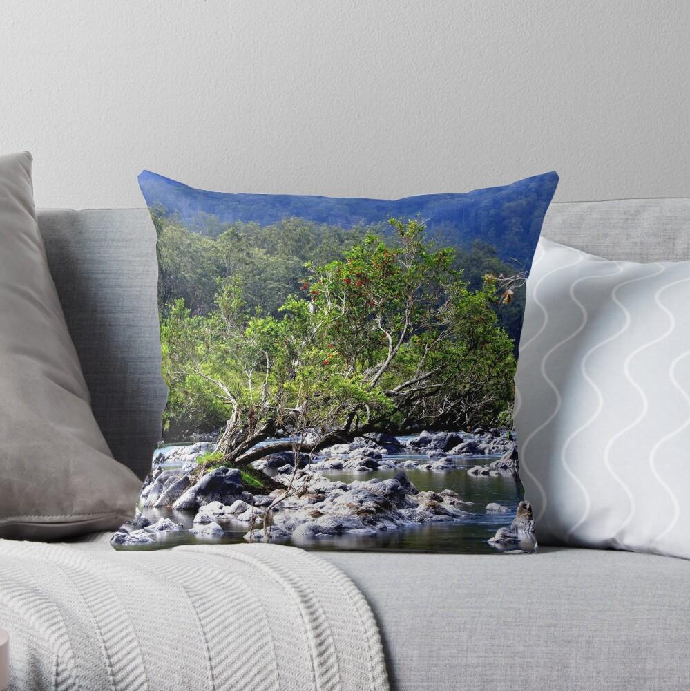 Nymboida River Throw Pillow