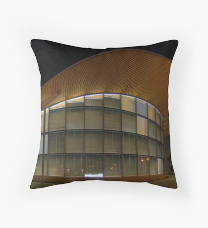 Olympic Architecture Throw Pillow