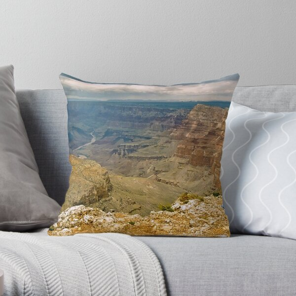 The Grand Canyon Series  - Anne's Canyon Throw Pillow