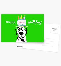 Snip Wishes You a Happy Birthday Postcards