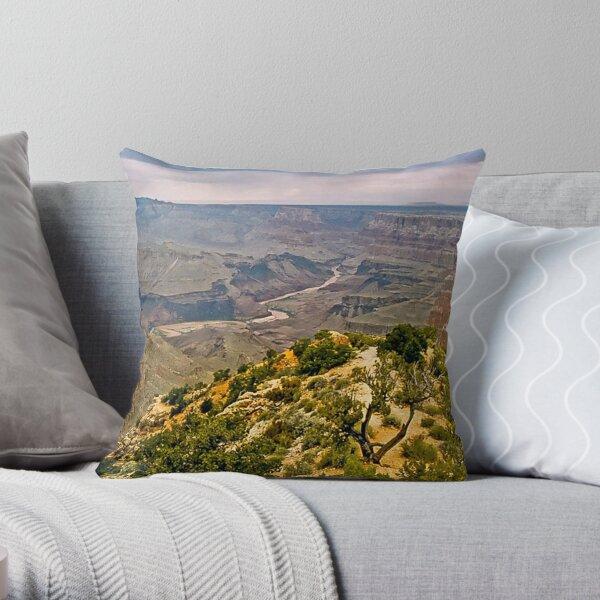 The Grand Canyon Series  - 10 Colorado River Throw Pillow