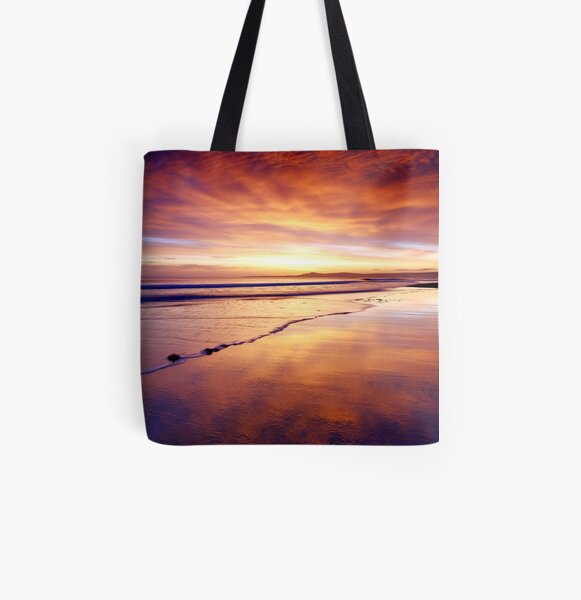 So quiet All Over Print Tote Bag