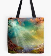 The Secret Grotto Tote Bag