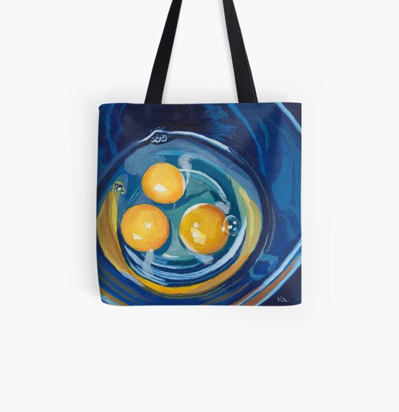 eggs in a bowl All Over Print Tote Bag