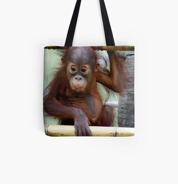What a Look All Over Print Tote Bag