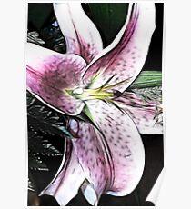 fractalius bloom Poster