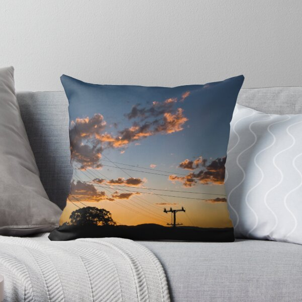 More Than Golden Throw Pillow