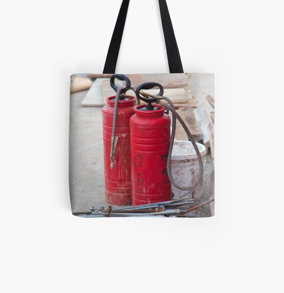Construction Equipment comes in all shapes All Over Print Tote Bag