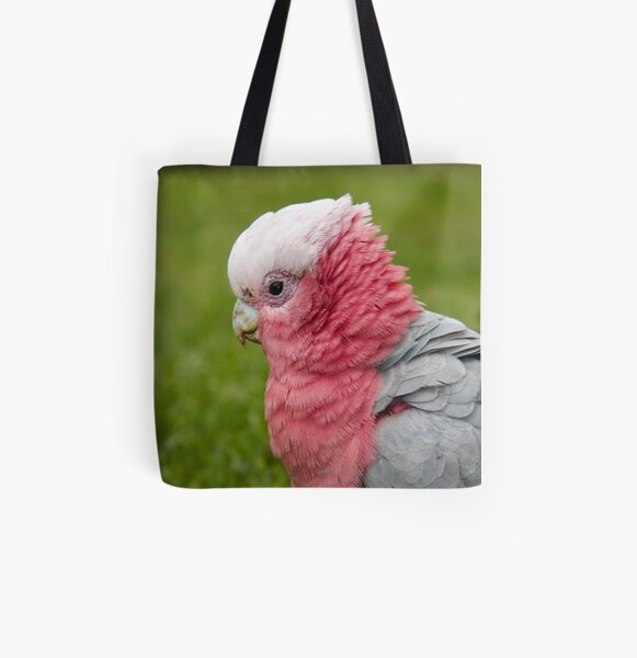 Ruffling his feathers All Over Print Tote Bag