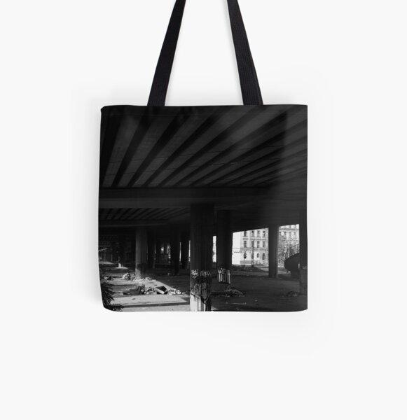 Where the Street Sleeps All Over Print Tote Bag
