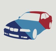 BMW e36 in Racing Colors