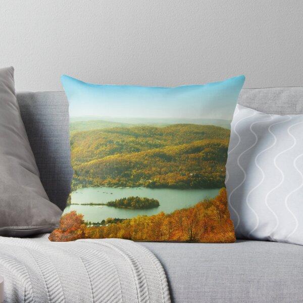 Mont-Tremblant 01 Throw Pillow