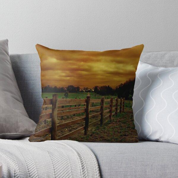 Across The Field 1 Throw Pillow