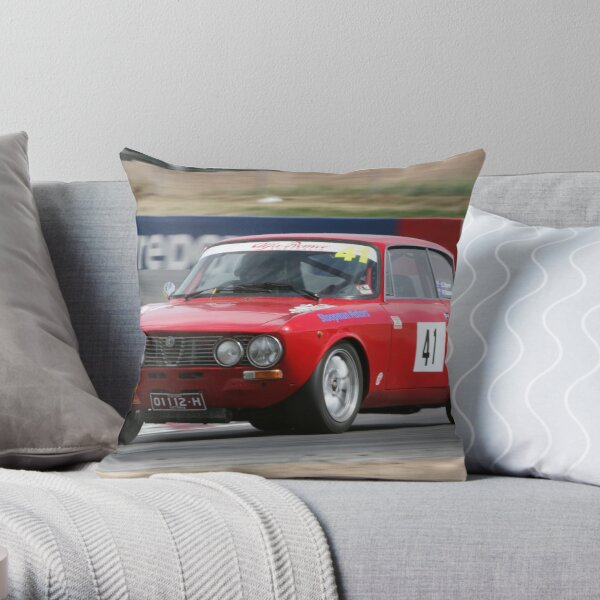 Alfa attack Throw Pillow