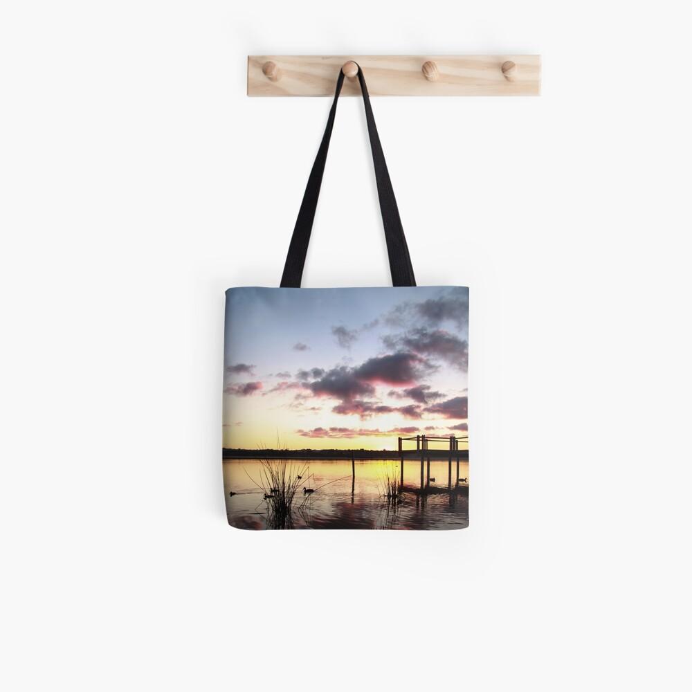 Sunrise over Lake Joondalup Tote Bag