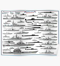 Soviet Navy - Cold War Poster