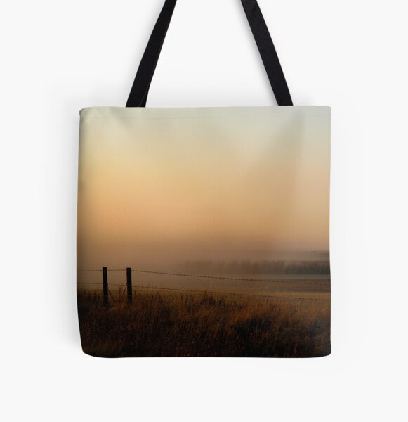 Sunset Mist All Over Print Tote Bag