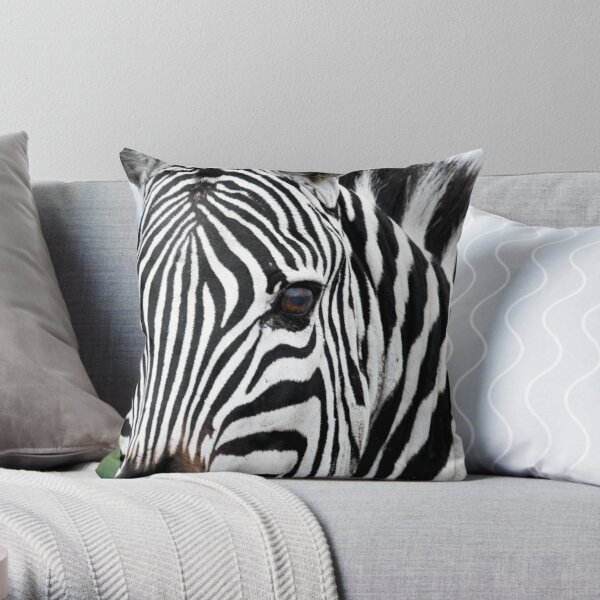 Bold Lines Throw Pillow