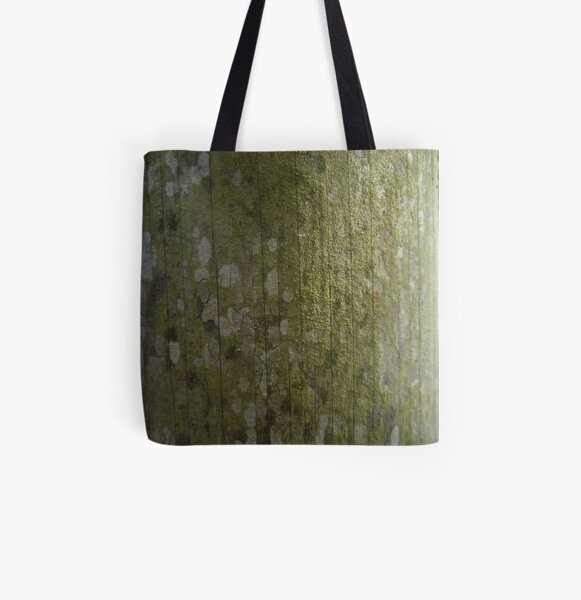 the green side of the moon All Over Print Tote Bag