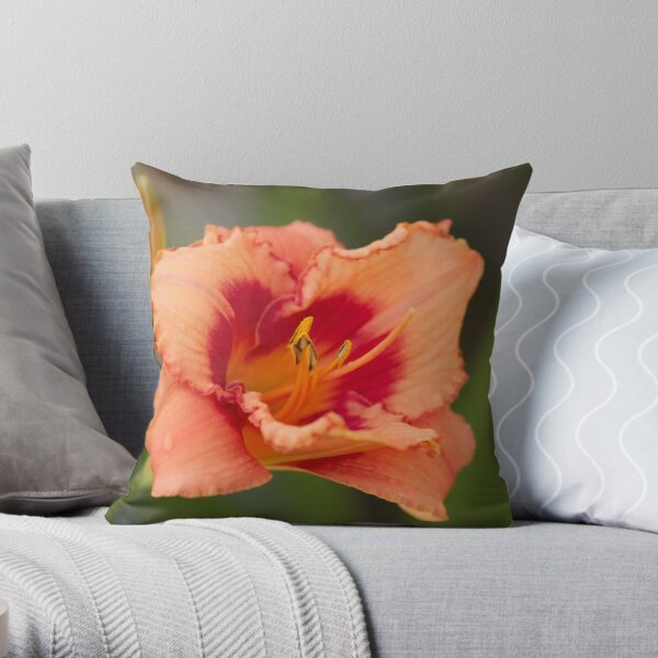 Flower Calendar 03 Throw Pillow