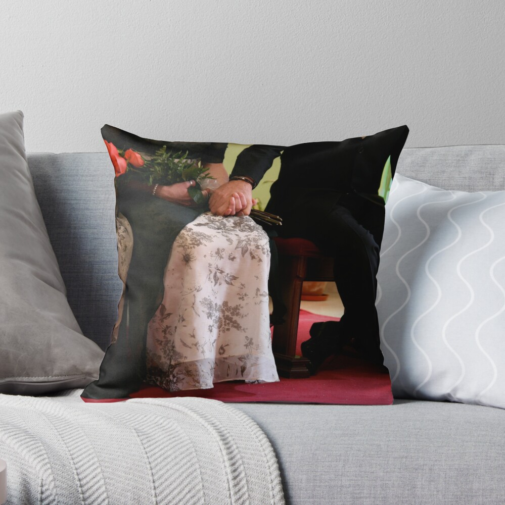 We Do, We Have. Throw Pillow