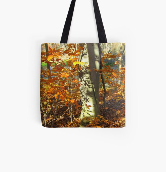A Real Tree Relationship All Over Print Tote Bag