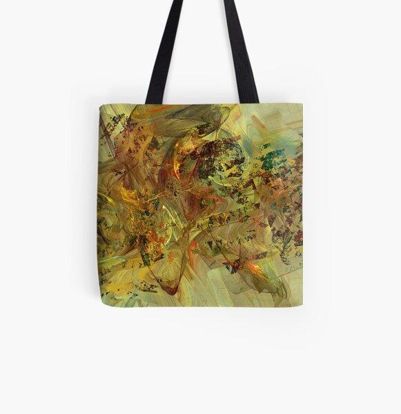 Tumultuous All Over Print Tote Bag