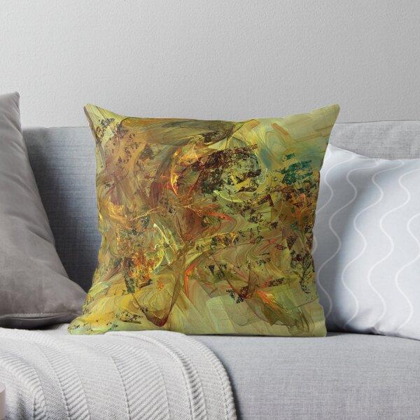 Tumultuous Throw Pillow