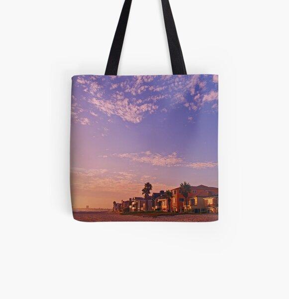 Big Sky All Over Print Tote Bag