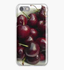 bowl of cherries iPhone Case/Skin