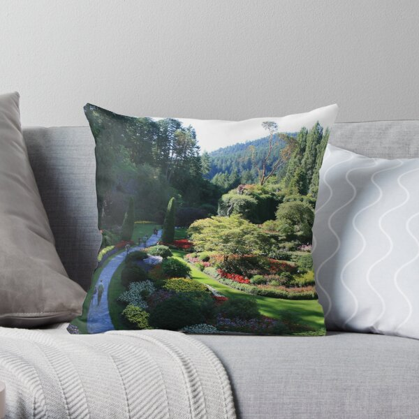The Walk Throw Pillow
