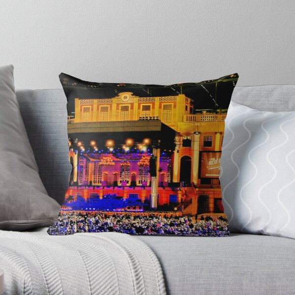 """""""A Palace in a Dome"""" Throw Pillow"""