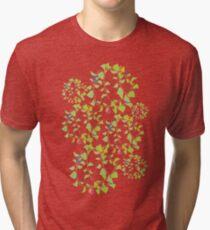 peace flowers Tri-blend T-Shirt