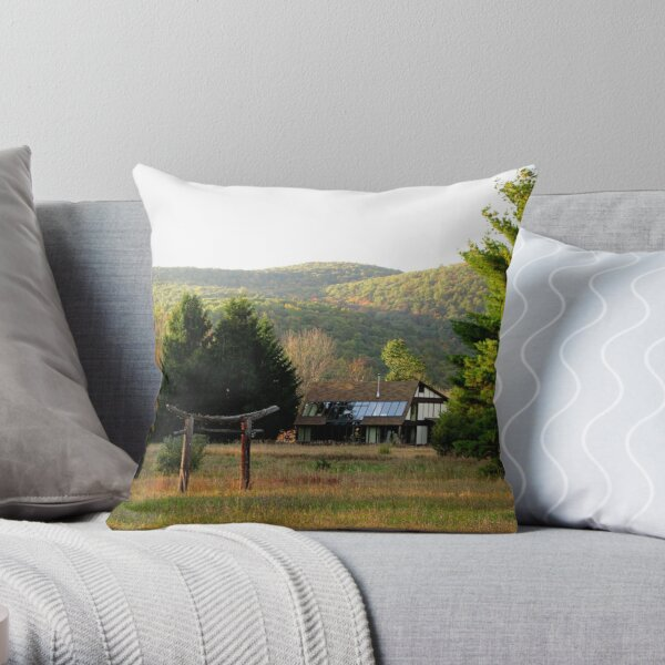 House of Torii Throw Pillow