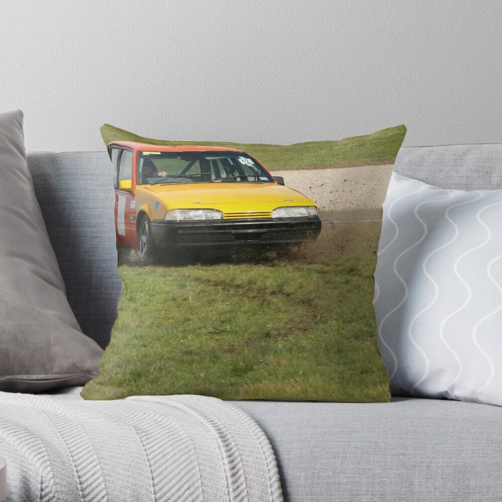 Reverse parking Throw Pillow