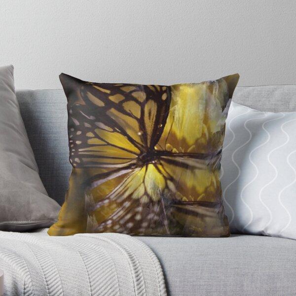Magical Metamorphosis Throw Pillow